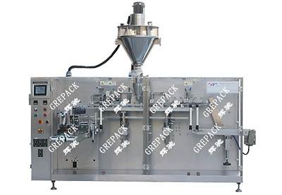 HC-240GTP给袋式水平包装机加正嘴