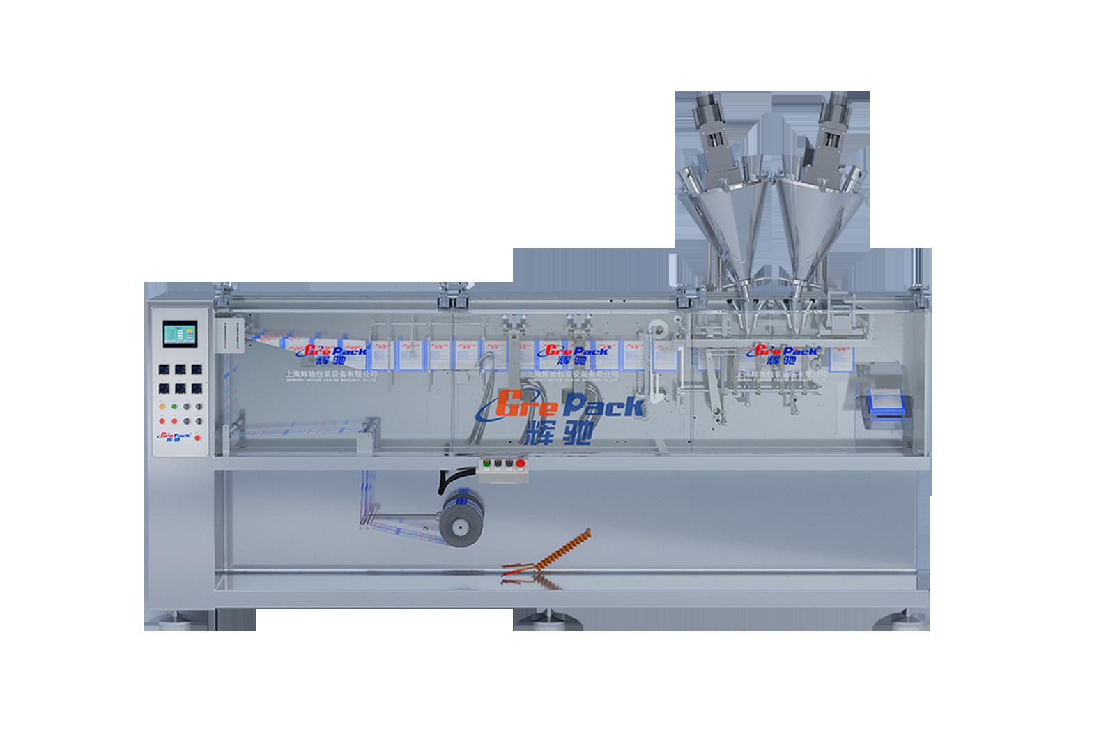 HC-180T双连袋水平包装机