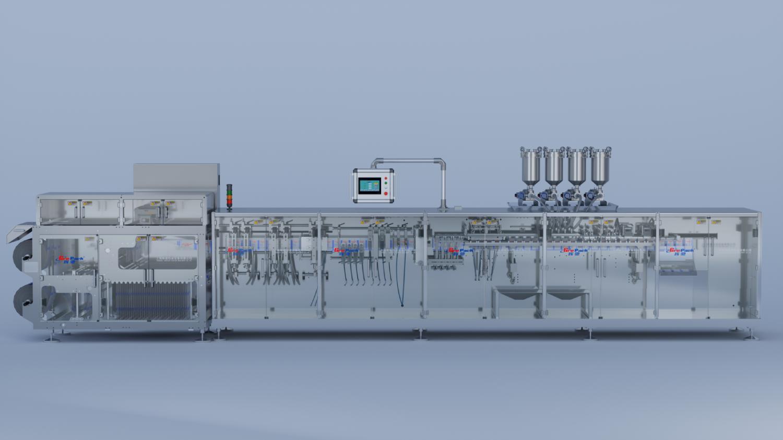 HC-D240S高速自立袋包装机