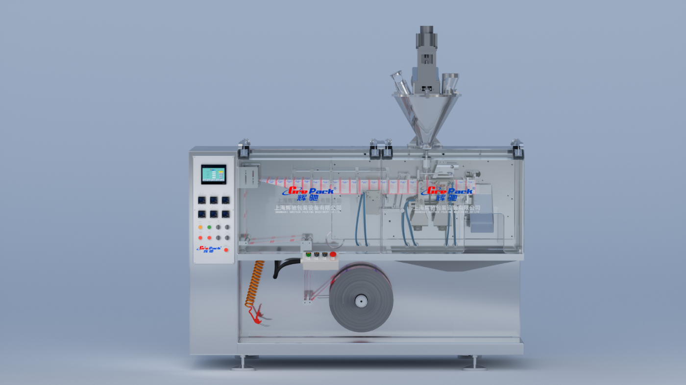HC-110水平式卷膜包装机