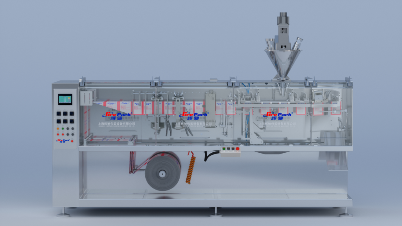 HC-180水平式卷膜包装机