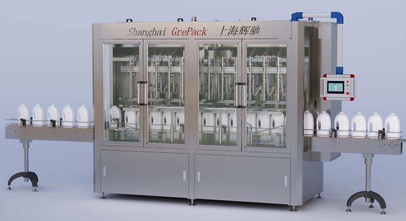 GP5000膏体灌装机