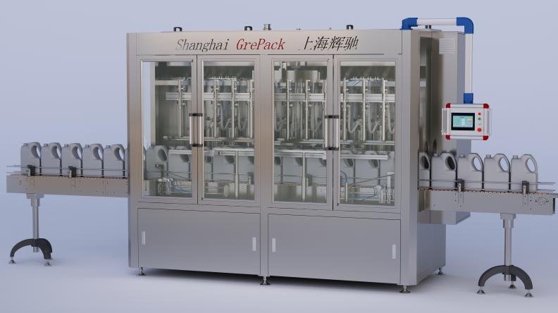 GP-5000润滑油灌装机