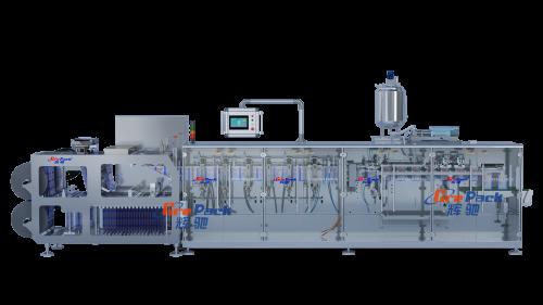 HC-180加拉链卷膜式包装机