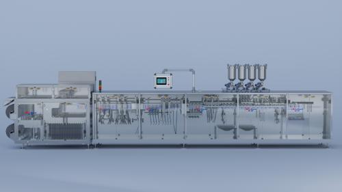 四川HC-D240S高速自立袋包装机
