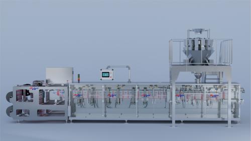 HC-240S自立袋颗粒包装机