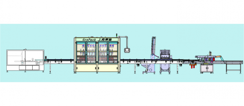 洗涤剂灌装生产线